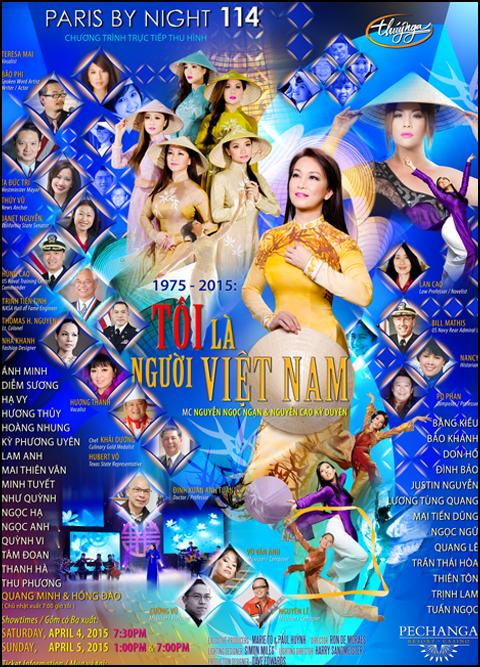 Paris By Night 114: Tôi Là Người Việt Nam Bluray 1080i