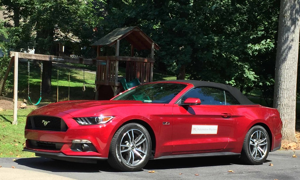 Exploring D.C. for a Day Touting the 2015 Ford Mustang GT Convertible