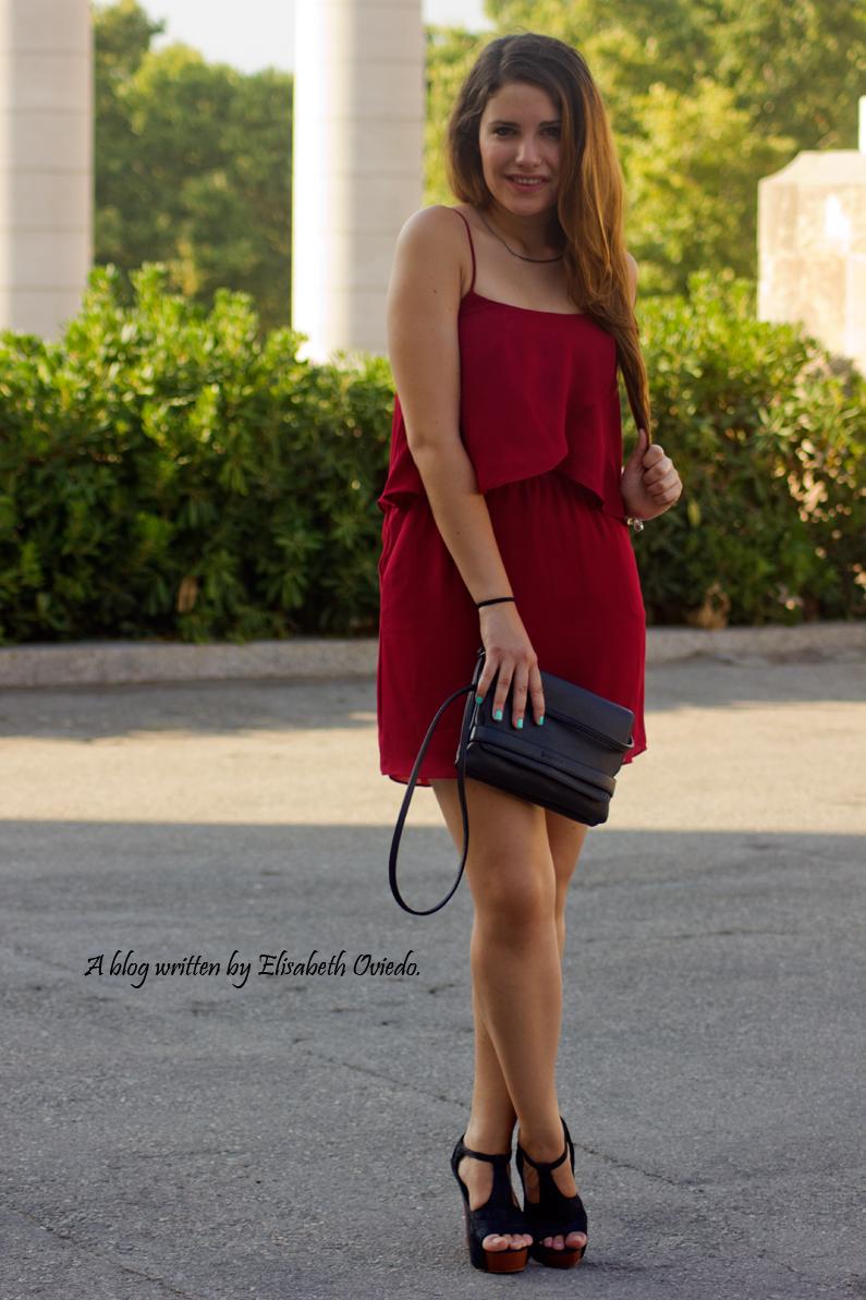 vestido burgundy MANGO HEELSANDROSES ELISABETH OVIEDO (3)