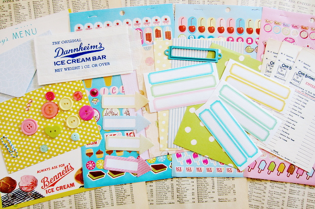 ice cream paper kit giveaway