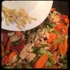 #Homemade Thai-Influenced Chicken & Veggies #CucinaDelloZio - add ginger