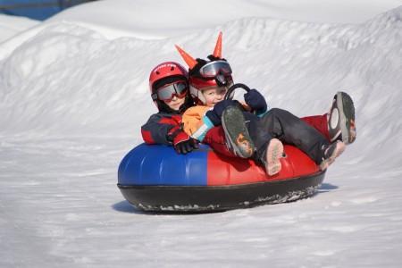Ski areál Razula k začátku jarních prázdnin otevřel snowtubing