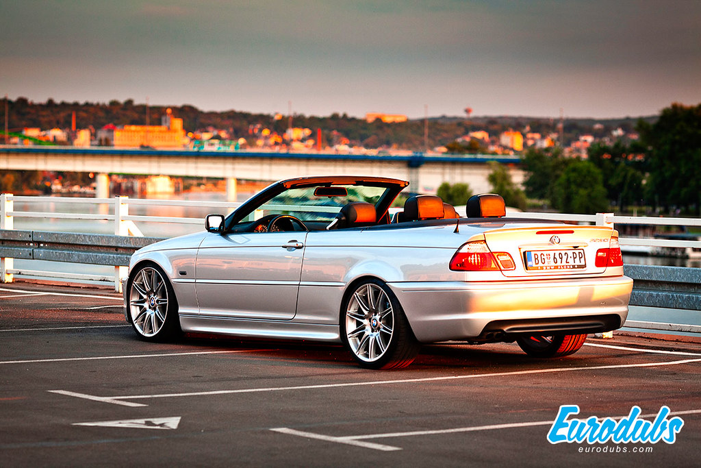 bmw e46 cabrio m look by danilo eurodubs. Black Bedroom Furniture Sets. Home Design Ideas