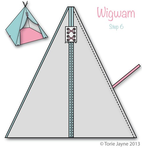 Wigwam Step 6
