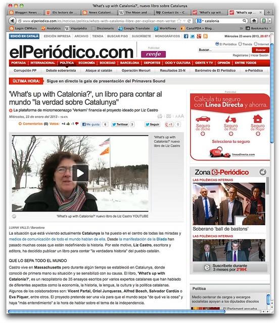 El Periódico, Castellà