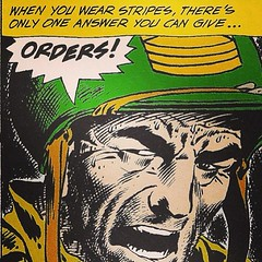 Joe Kubert's immortal Sgt. Rock, today at www.LongboxGraveyard.com. #comicbooks