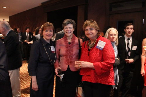 Maryann Lazarski, Cokie Roberts & Mary Van de Kamp Nohl at the Gridiron Awards Dinner.