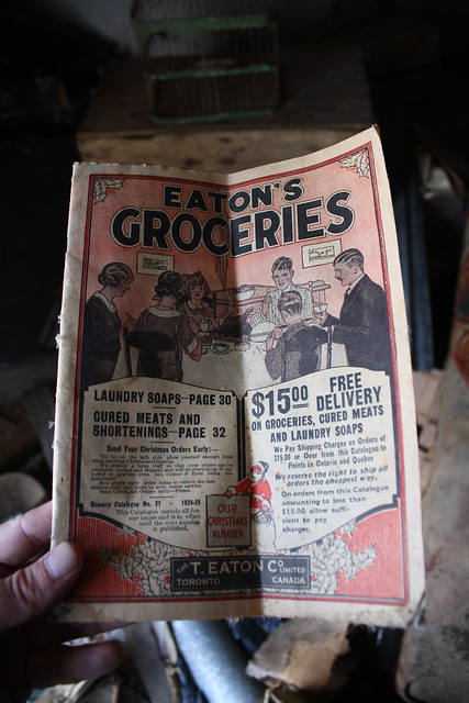 Eaton's Groceries Catalogue No. 21 - 1924-25