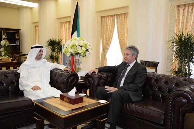 Reunión del Embajador de México en Kuwait con el Presidente de la Asamblea Nacional kuwaití