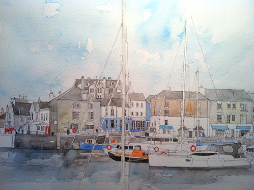 Padstow Harbour, Cornwall by simoneridyard