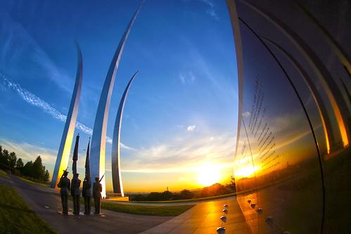 sunrise usaf unitedstatesairforcememorial