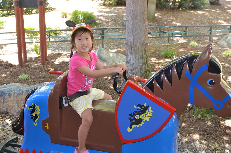 Aki on the Royal Joust