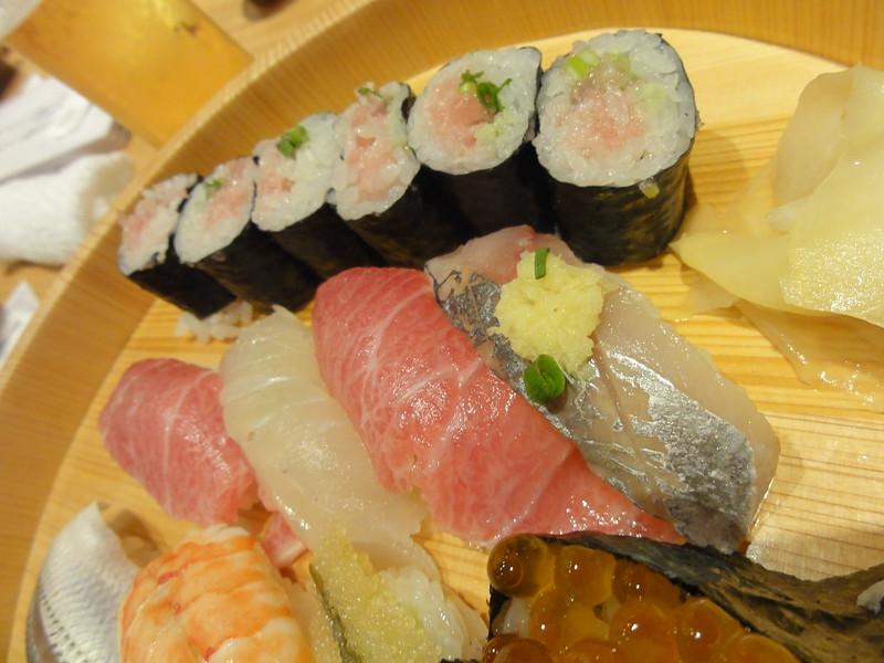 Sushi - Tokyo -  Japan