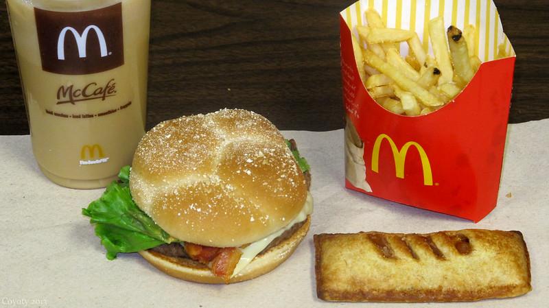 McDonald's Habanero Ranch Quarter Pounder