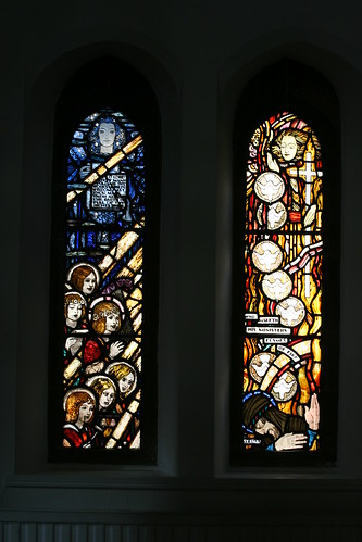 North Aisle cloister windows - late 1920s