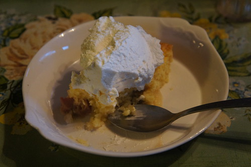 Emma: Rhubarb dessert