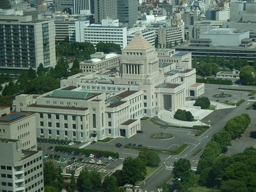会計検査院からの眺め
