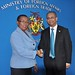 Assistant Secretary General Meets with Foreign Minister of Barbados