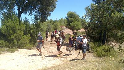 marxa homenatge als maquis a l'Ametlla a la Creu del Perelló i vam acabar la ruta a Castellnou de Bages 2013