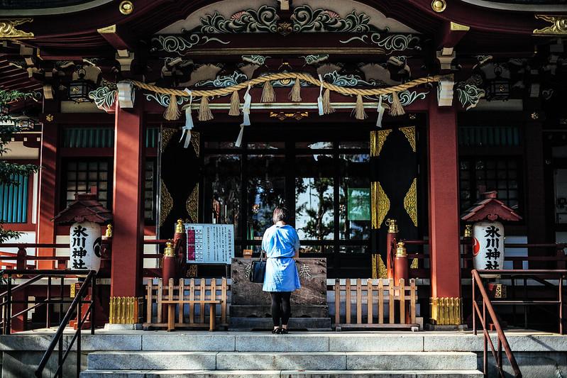 中野氷川神社。