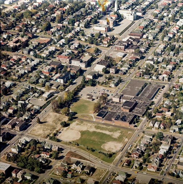 Aerial of Capitol Hill, 1970