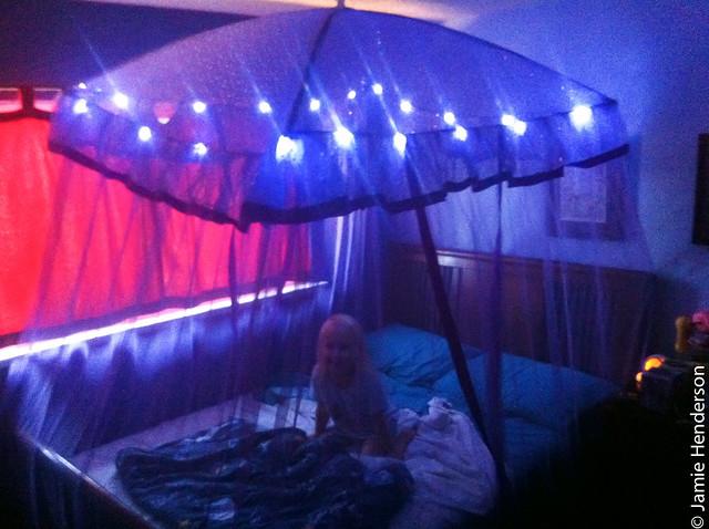 light up bed canopy bangdodo. Black Bedroom Furniture Sets. Home Design Ideas