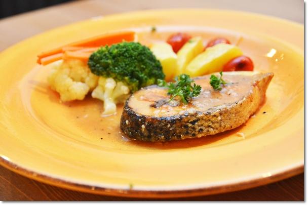 Salmon Pomodoro