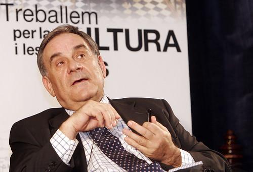 El periodista Lluís Foix