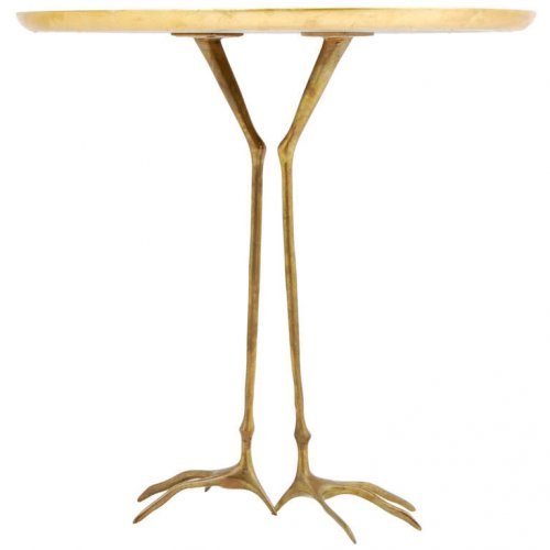 footed table