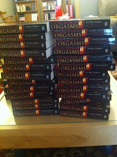 My new erotica anthology The Big Book of Orgasms: 69 Sexy Stories has arrived!