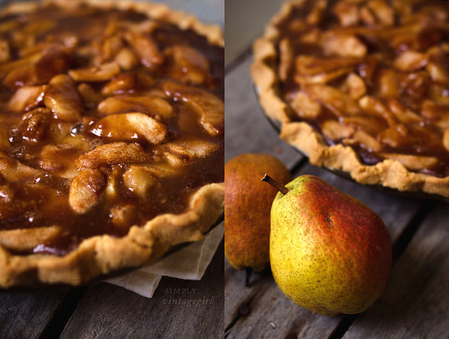 Harvest Time - Grain-Free Pear Pie