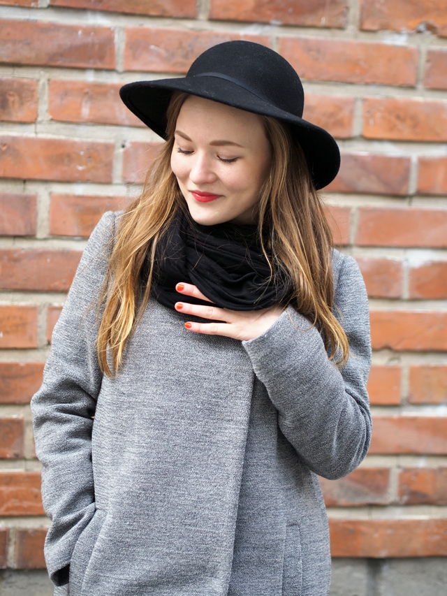 bee keeper hat black asos