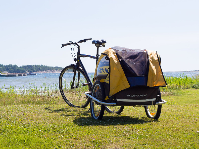 Cycle with trailer