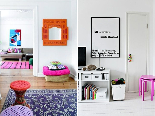 neutral and neon at home 5
