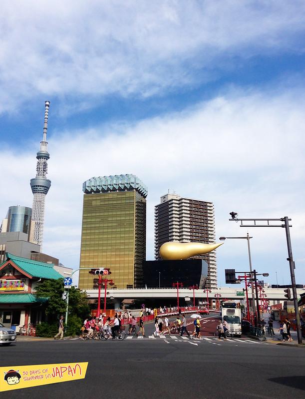 Asakusa - yebisu beer building