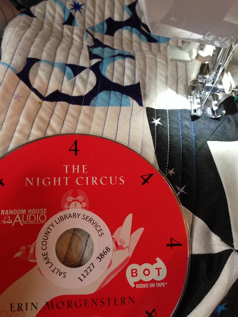 The Night Circus and Quilting