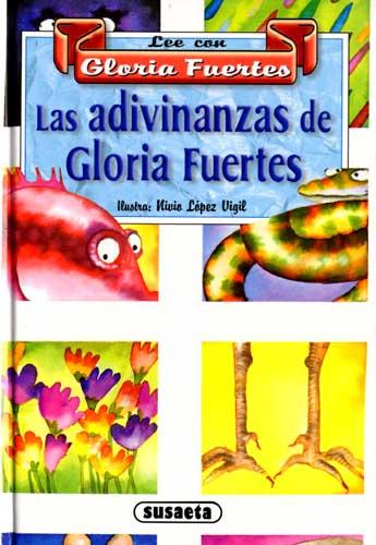 Cubierta de Las adivinanzas de Gloria Fuertes