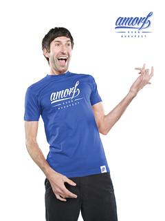 Shirt x royal blue