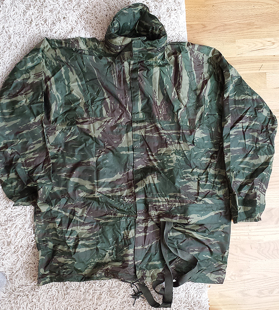 Greek Lizard Stowable Rain Jacket 10237267833_1c6f9ee347_o