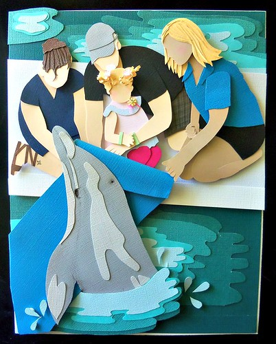 Papercut Family Portrait