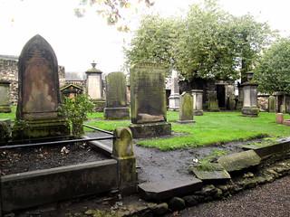 Cementerio de Canongate Kirk.