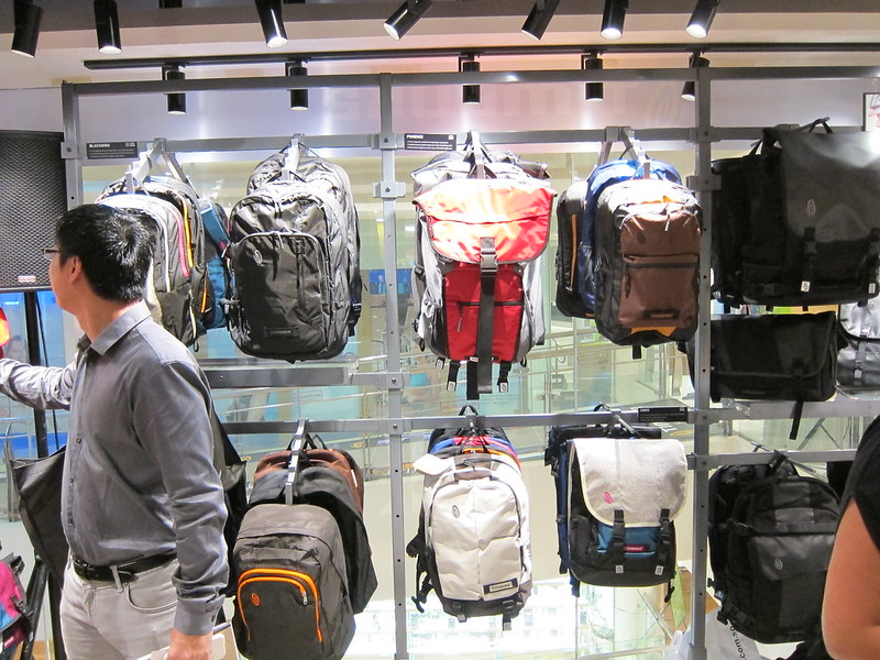 Timbuk2 Singapore Store - Inside The Store