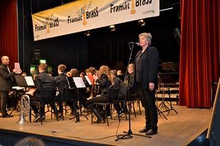 Lilla Brassbandfestivalen 2013 - Programpresentatör Berit Palmquist