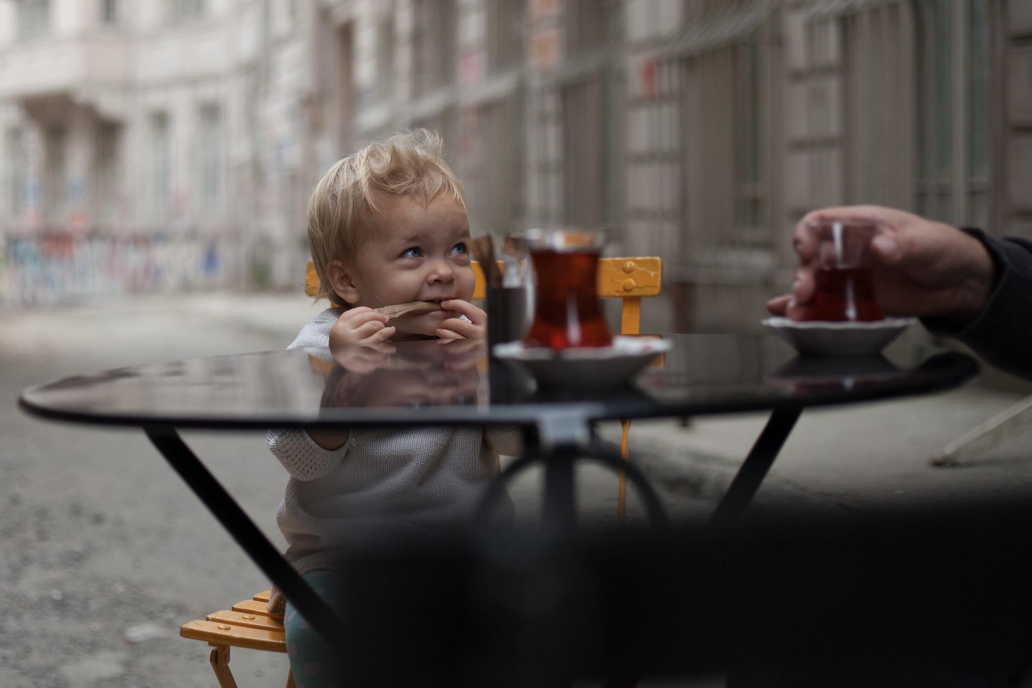 Tea with Daddy, Karaköy.