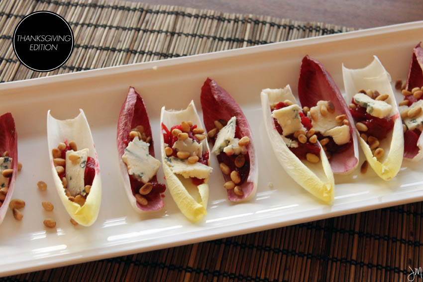 Julip Made Thanksgiving appetizer belgian endive3