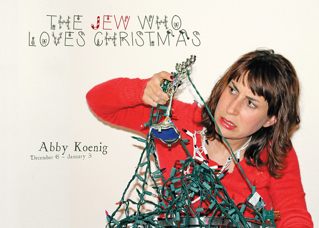 "Abby Koenig brings Christmas dissonance to Fresh Arts through ""The Jew Who Loves Christmas"""
