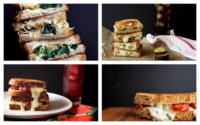 lots of grilled cheese!