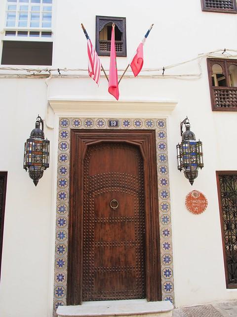 建築物的正門