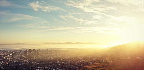 africa sun sunlight nature sunshine sunrise landscape southafrica cityscape capetown citylights