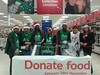 Volunteering collecting for Brent Food Bank at Tesco